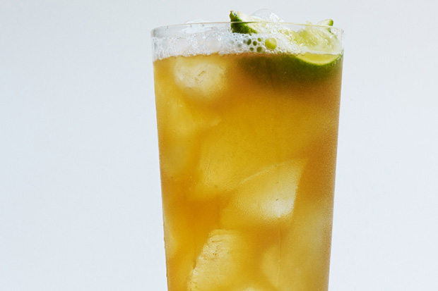Spiced Dark and Stormy recipe