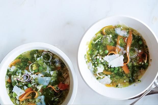 Green Minestrone recipe