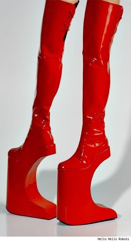 footwear designs 15 Strange Footwear designs