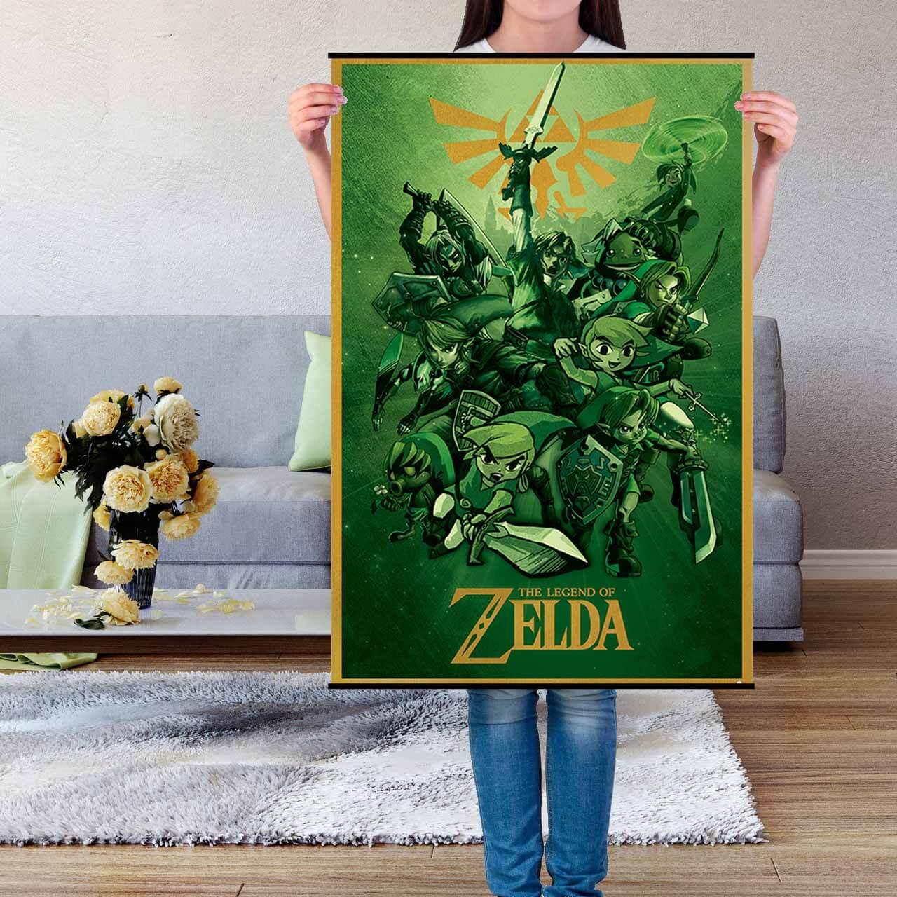 link the legend of zelda maxi poster nintendo