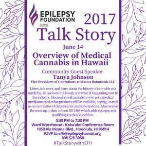 Talk Story with EFH – Epilepsy Foundation of Hawaiʻi