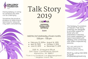 Talk Story with EFH – Epilepsy Foundation of Hawaiʻi