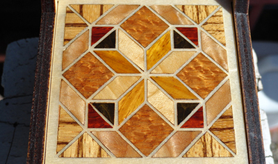 Finished Wood Veneer Inlay