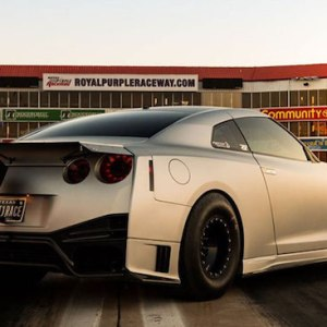 N Tune T1 Race Rear Bumper Gtr
