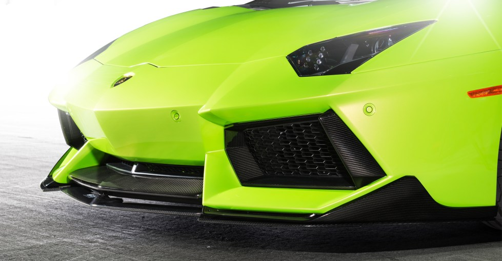 Vorsteiner Aventador-V Aero One Piece Race Splitter (Only In Connection With 0701 LOV) PP 2x2 Glossy