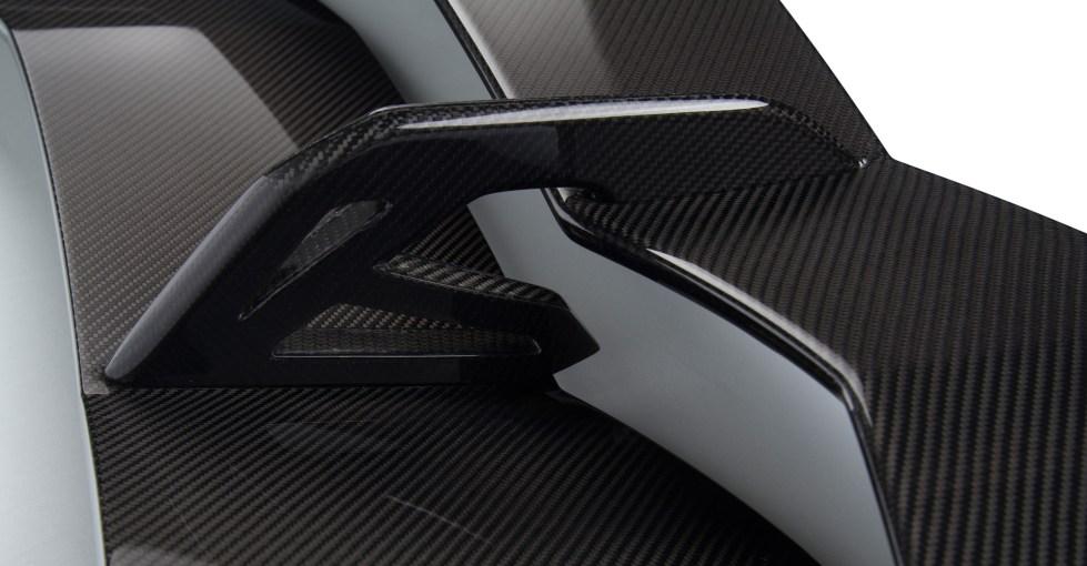 Vorsteiner Aventador Zaragoza Edizione Aero Wing Carbon Fiber PP 2x2 Glossy