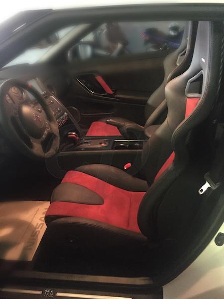 Nismo R35 GTR Seat 3