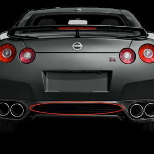 Nissan 85070 KB50A Dba Rear Exhaust Grille