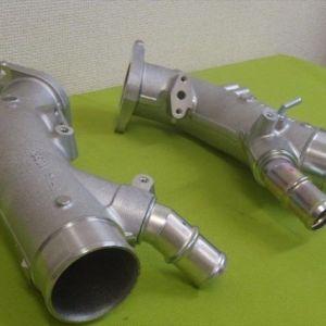 Nissan OEM 2012+ GTR Turbo Inlet Pipe Set: 2009 2011 Nissan R35 GTR  2
