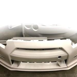 N-Tune Kit A (FRP) – Front Bumper & Front Splitter: 2009-2016 Nissan R35 GTR