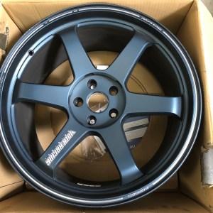 Used: Nissan R35 GTR Volk Racing TE37 Ultra Matte Blue 20×10 +31 & 20×12 +20