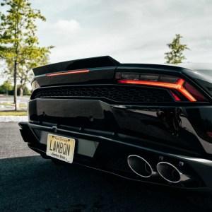YMP Design Forged Carbon Fiber Rear Deck Lid Spoiler: 2014+ Lamborghini Huracan