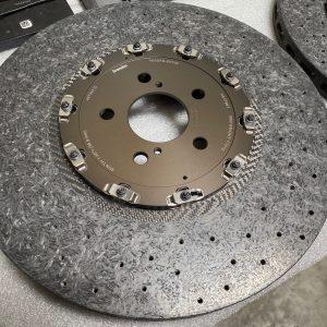 "Nissan OEM ""CCM"" Carbon Ceramic Rotors (Nismo): 2020+ Nissan R35 GTR (Front Pair)"
