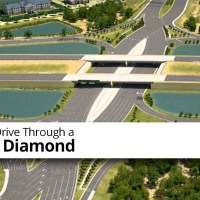 Learn How to Drive Through a Diverging Diamond