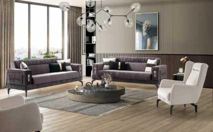 Κλασικός Καναπές Κρεβάτι Τριθέσιος Asos (1τμχ.) 13145