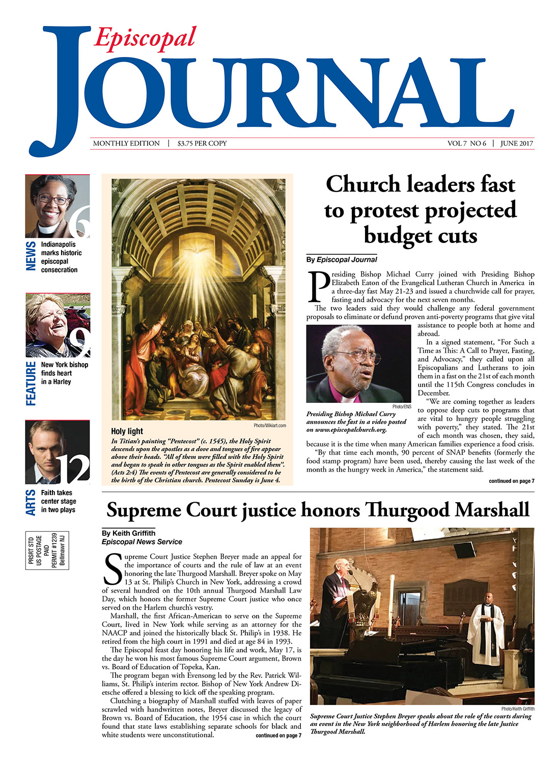 Episcopal Journal, June 2017