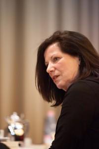 Jurorin Sabine Peschel, ILP-Jurysitzung 2015 © Santiago Engelhardt