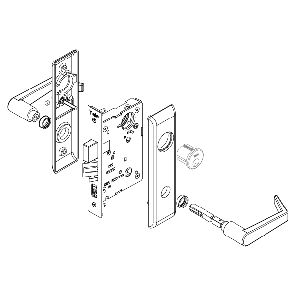Schlage Lock Parts Diagram Best Free Wiring Diagram