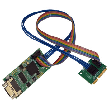 The Pixci Eb1minih Has An Sdr Camera Link Connector And Fpga On A Separate Circuit Board For Mounting To Side Of Small Chassis