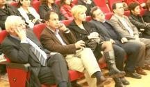 από αριστερά: Αργύρης Ελληνικός, Κ. Ρουσόπουλος , Έλενα Βάκα, Δημήτρης Κατσούλης, Γιώργος Φραντζής