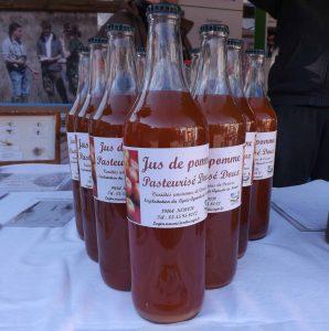EPL de Haute-Corrèze jus de pomme ferme du Manus