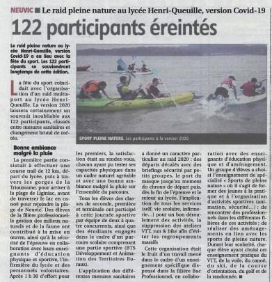 2020-10-01_LaMontagne_Neuvic raid du lycée
