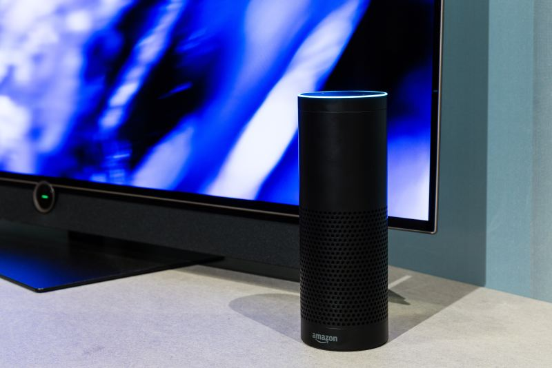 Intelligence artificielle Enceinte Alexa