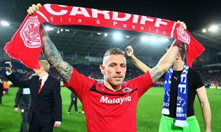 Craig Bellamy following last night's Promotion confirmation.