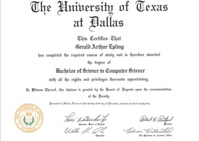 Bachelor of Science in Computer Science