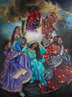 Neha Kapil artwork Stories of Renaissance 9-21