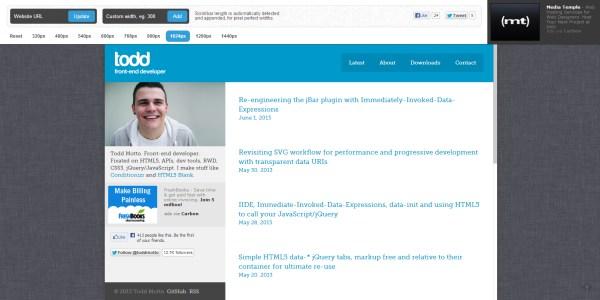 Tools Untuk Menguji Desain Web Responsive - jResize