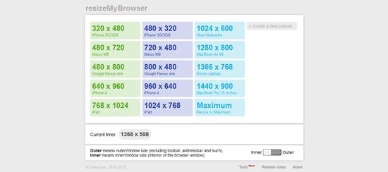 Tools Untuk Menguji Desain Web Responsive - ResizeMyBrowser