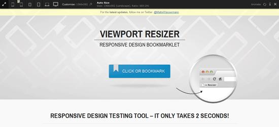 Tools Untuk Menguji Desain Web Responsive - Viewport Resizer