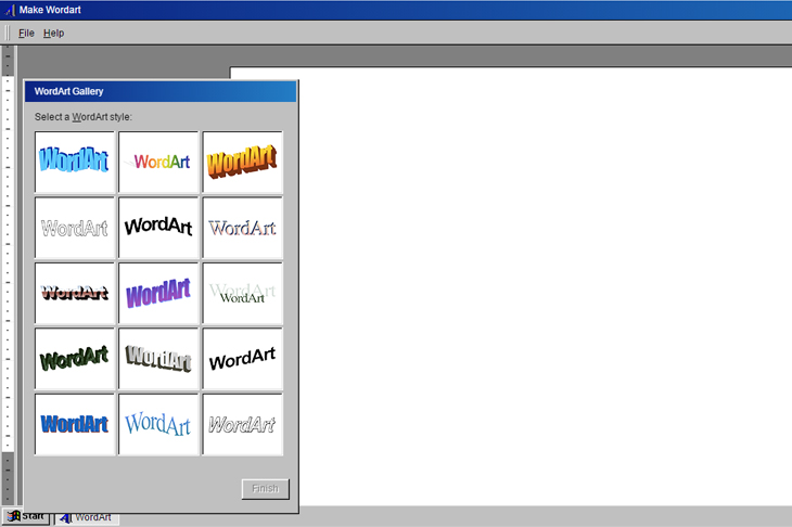 Nostalgia dengan Website Make WordArt