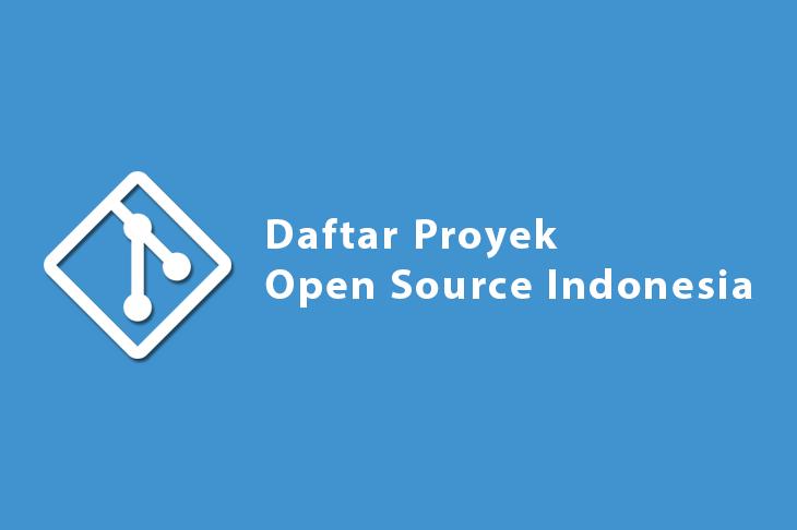 Daftar Proyek Open Source Indonesia
