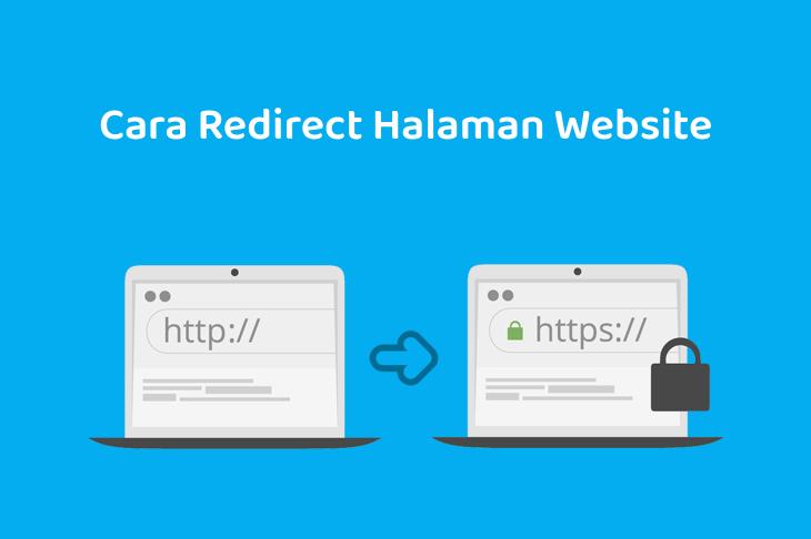Cara Redirect Halaman Website
