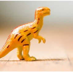 For dinosaurs in heaven, this Dinosaur toy photo credit: Thomas Hawk via photopin cc / corners rounded from original