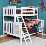 Alta Twin Over Full Bunk Bed Epoch Design White