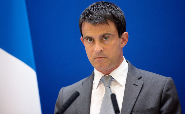 Thủ tướng Pháp Manuel Valls. (Fred Dufour / AFP / Getty Images)