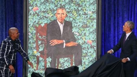 Artista do retrato presidencial de Obama pintou pessoas negras decapitando pessoas brancas