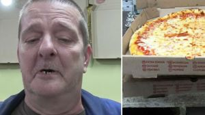 Homem desiste de suicídio após ler mensagem dentro de pizza