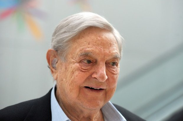 George Soros no Instituto para o Novo Pensamento Econômico (INET) em Paris, em 9 de abril de 2015 (Eric Piermont/AFP/Getty Images)