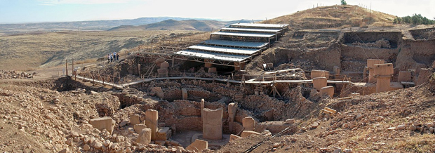 Parte do sítio de escavação de Göbekli Tepe (Rolfcosar/CC BY-SA 3.0 via Wikimedia Commons)