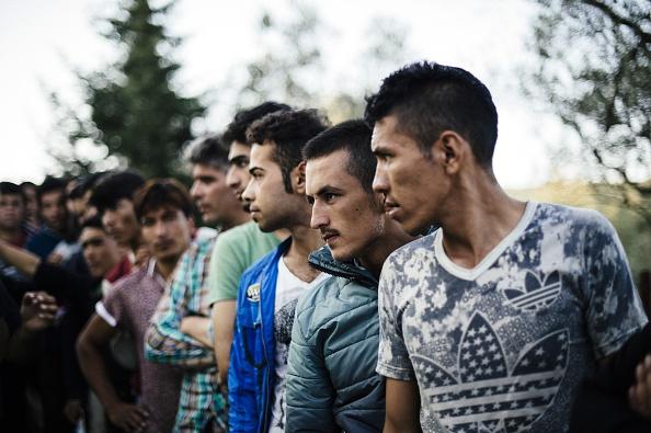 Flüchtlingsströme gen Europa Foto: Getty Images