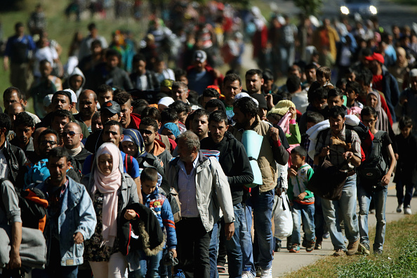 Migrantenzustrom in Europa. Foto: Getty Images
