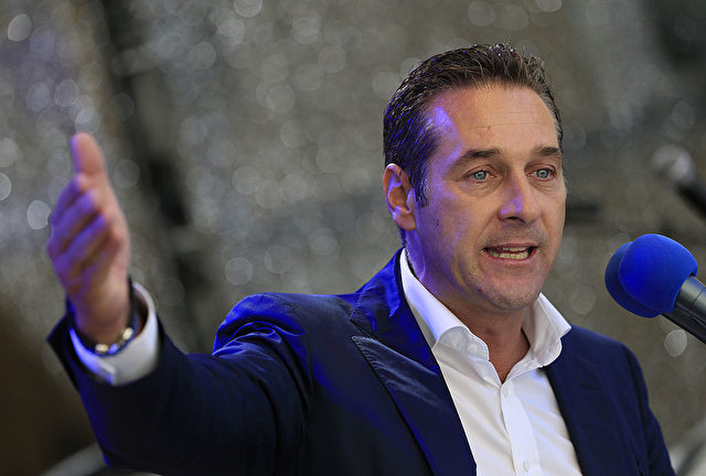 FPÖ-Chef Heinz-Christian Strache Foto: ALEXANDER KLEIN/AFP/Getty Images