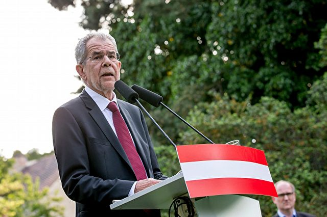 Bundespräsident Alexander Van der Bellen Foto: Jan Hetfleisch/Getty Images
