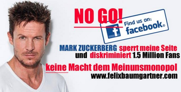Felix Baumgartner Foto: Facebook/Screenshot