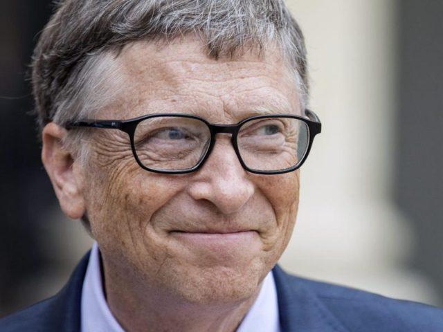 Bill Gates referierte auf der Münchener Sicherheitskonferenz über die Gefahr einer großen Pandemie. Foto: Etienne Llaurent/Archiv/dpa