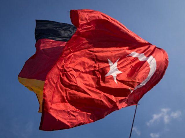 Deutschland und Türkei Flagge Foto: Christian Charisius/Archiv/dpa